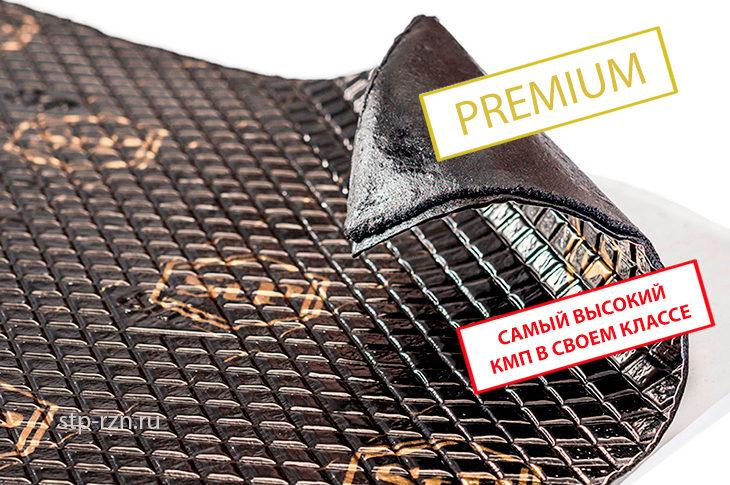 StP Bimast Bomb Premium — вибропоглощающий материал