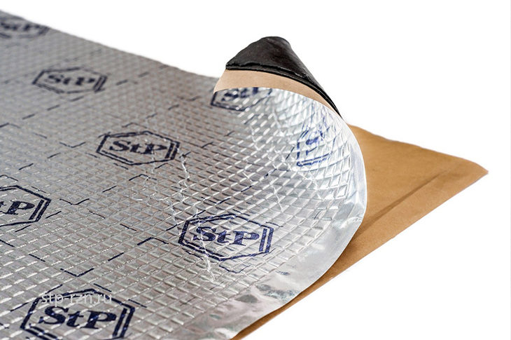 StP Bimast Super — вибропоглощающий материал