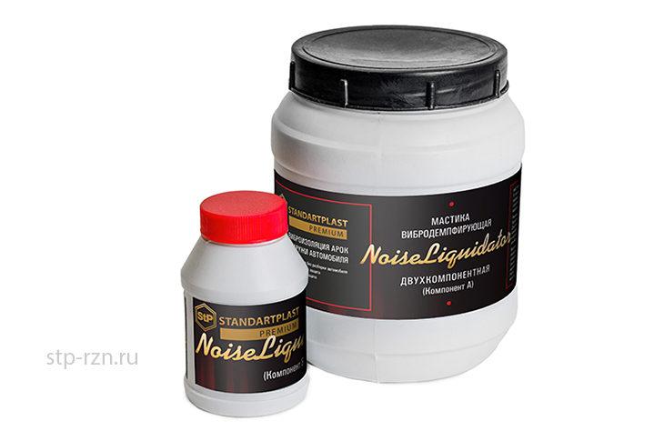 StP NoiseLIQUIDator – вибродемпфирующая антикоррозийная мастика