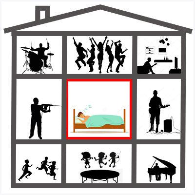 Звукоизоляция квартир, домов и студий звукозаписи
